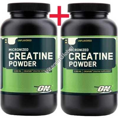 Креатин моногидрат 600 гр (300+300) - Optimum Nutrition