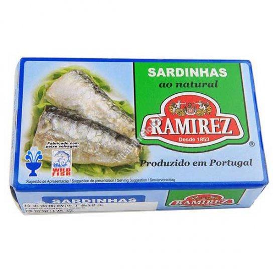 Сардины в собственном соку 125 гр - Ramirez