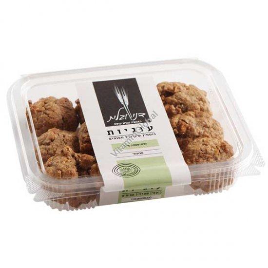 Печенье без сахара, из цельнозерновой спельтовой муки с яблоком и корицей 230 гр - Дани и Галит