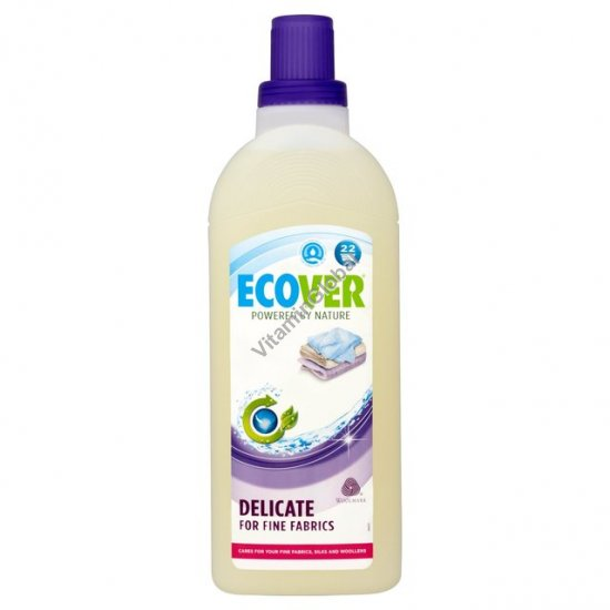 Жидкое средство для деликатной стирки тонких тканей и шерстяных изделий 1 литр - Эковер