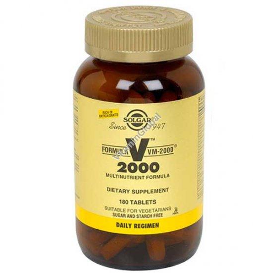 Мультивитамин VM-2000 180 таблеток - Солгар