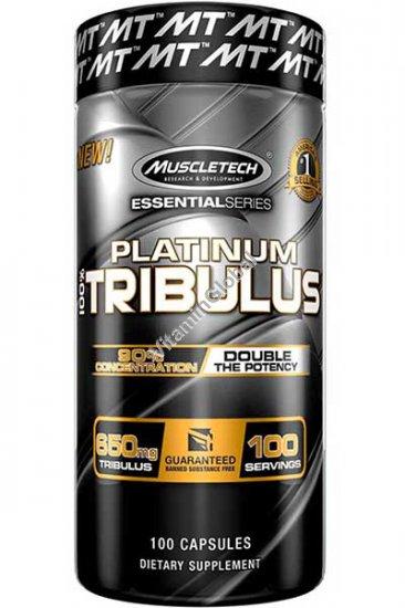 Платиновый Трибулус 650 мг 100 капсул - MuscleTech