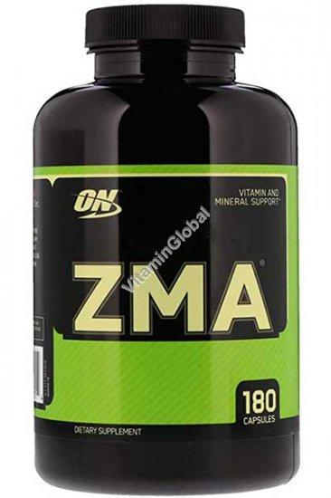 Анаболическая формула ZMA 180 капсул - Оптимум Нутришен