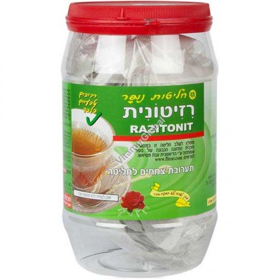 Чай Разитонит для похудания и ощущения сытости 100 пакетиков - Nufar