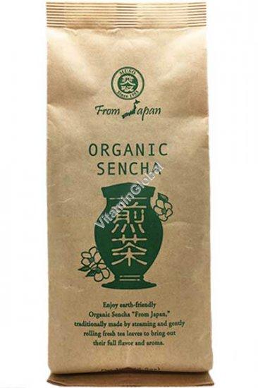 Органический зеленый чай Сенча 100 гр - Muso from Japan