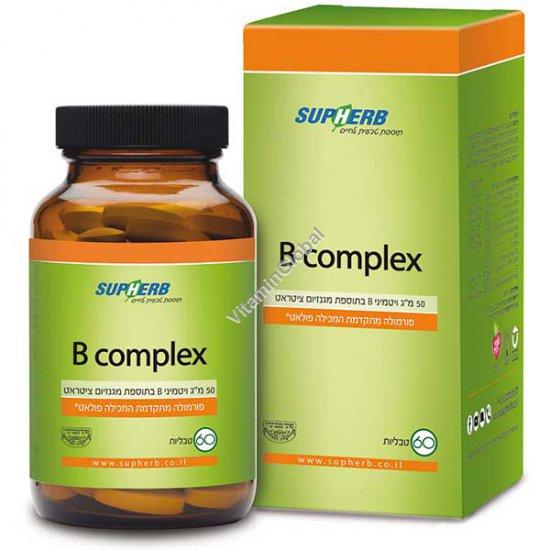 В-50 комплекс 60 таблеток - SupHerb