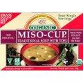 Органический мисо суп быстрого приготовления 4 одиночные порции - Edward & Sons