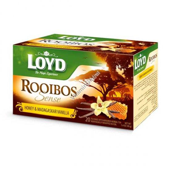 Ройбуш с медом и мадагаскарской ванилью 20 фильтр-пакетиков - Loyd