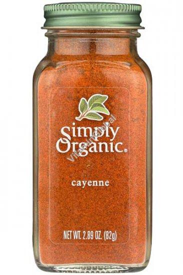 Органический молотый кайенский перец 82 гр - Simply Organic