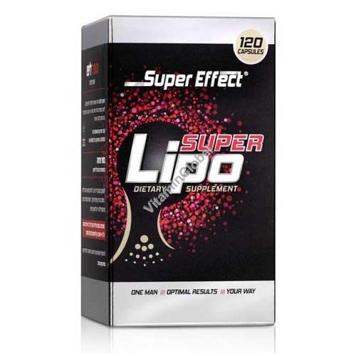 Сжигатель жира Super Lipo 120 капсул - Super Effect