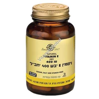 Витамин Е 400 МЕ (сухой) 50 капсул - Сольгар