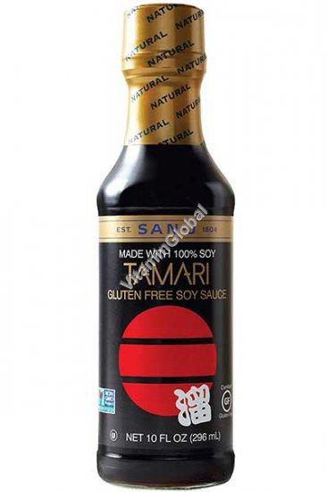 Соевый соус Тамари без глютена 296 мл - San-J