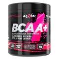 BCAA - аминокислоты в порошке со вкусом малины и лимона 30 индивидуально упакованных порций - Атом +