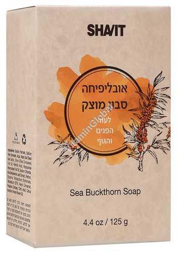 Облепиховое мыло для лица и тела 125 гр - Шавит