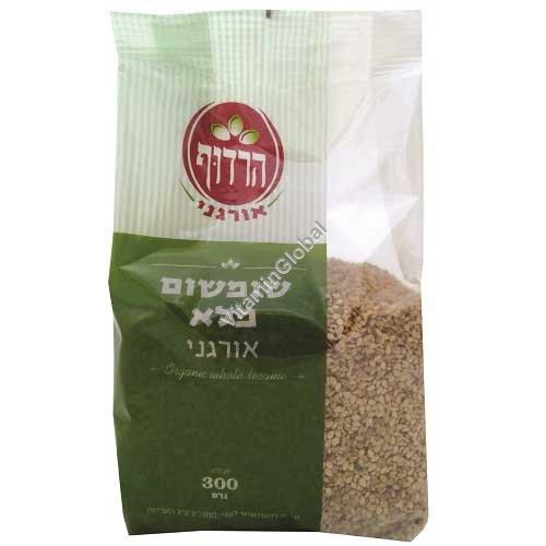 Органическое цельное кунжутное семя 300 гр - Harduf