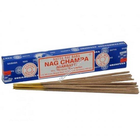 Индийские благовония Наг Чампа 15 гр - Satya Sai Baba