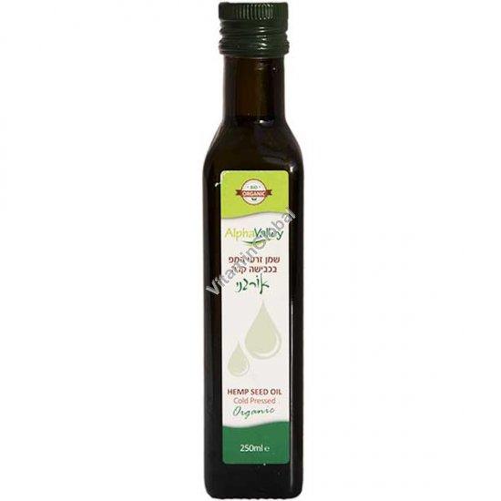 Органическое конопляное масло холодного отжима 250 мл - Alpha Valley