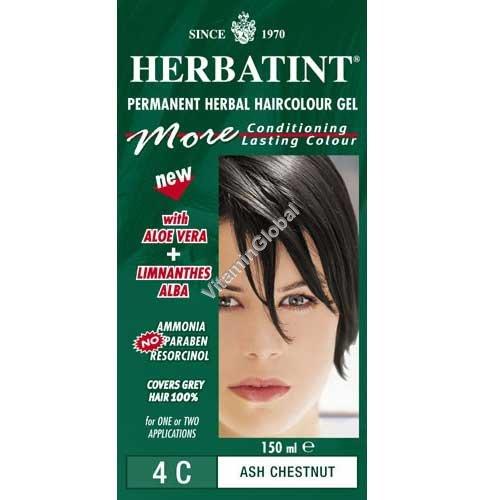 Пепельно-каштановый цвет 4C - Herbatint