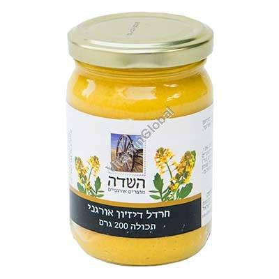 Органическая горчица дижон 200 гр - HaSade