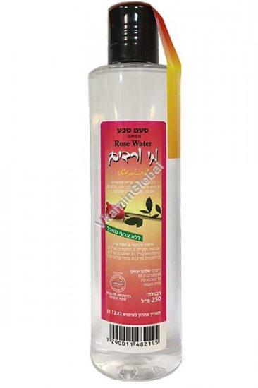 Натуральная розовая вода 250 мл - Taam Teva