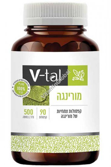 Моринга масличная - растительный суперфуд 500 мг. 90 капсул - V-tal