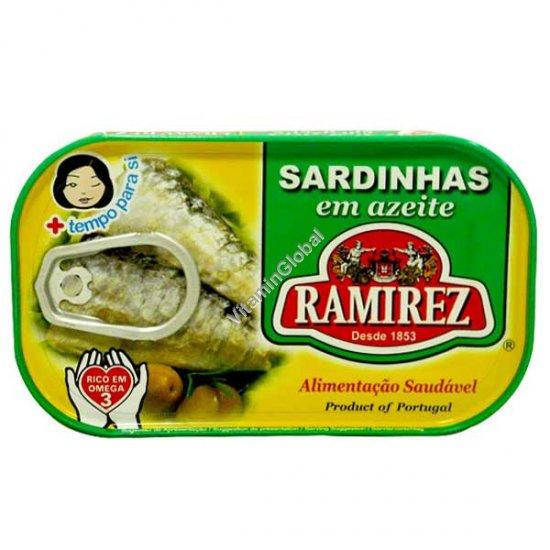 Сардины в оливковом масле 125 гр - Ramirez