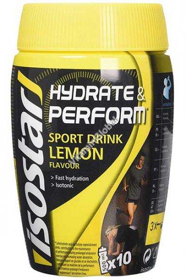 Напиток изотонический растворимый со вкусом лимона 400 гр - IsoStar