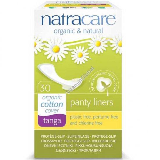 Ежедневные натуральные гигиенические прокладки для стрингов 30 шт - Natracare