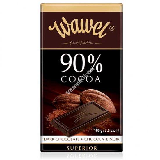 Премиум горький шоколад 90% какао 100 гр - Wawel