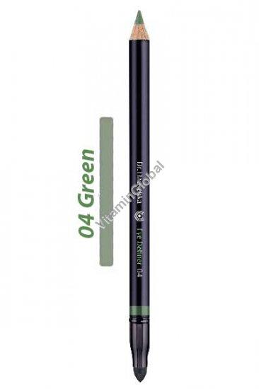 Карандаш для глаз зеленый 04 - д-р Хаушка