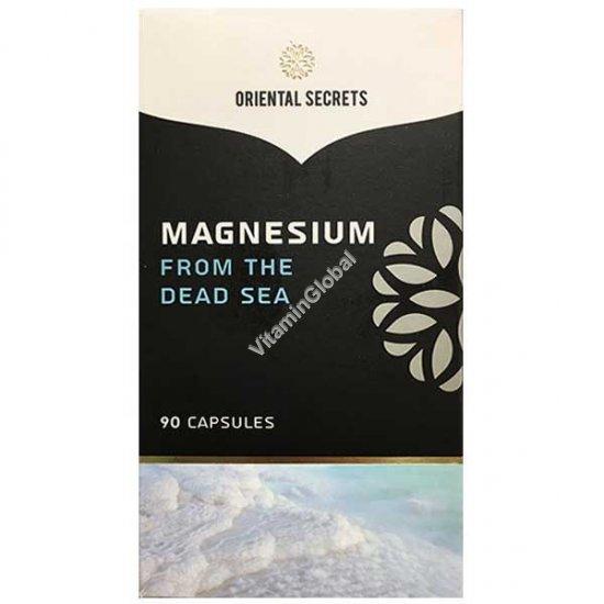 Магний Мертвого моря 90 капсул - Oriental Secrets
