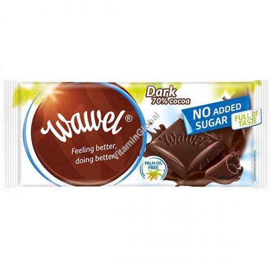 Темный шоколад без сахара 70% какао 100 гр - Wawel