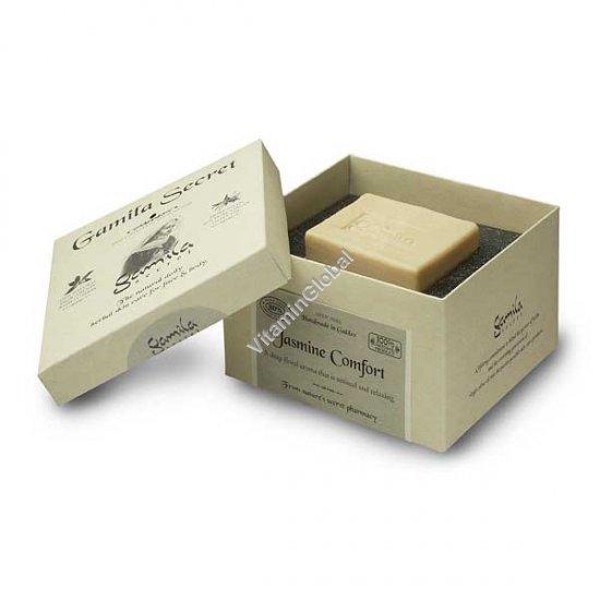 Натуральное мыло ручной работы с жасмином 115 гр - Gamila Secret