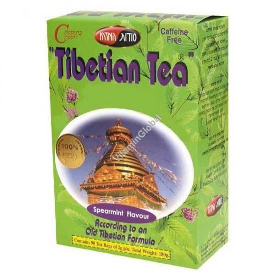 Тибетский чай со вкусом мяты 90 пак. - Oriental Secrets