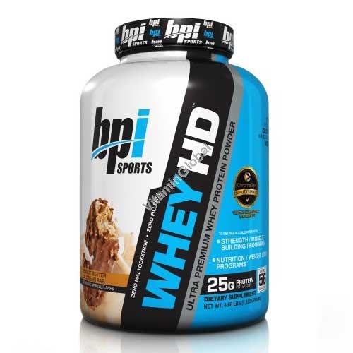 Ультра-премиум сывороточный протеин со вкусом арахисового масла 2.12 кг - bpi Sports