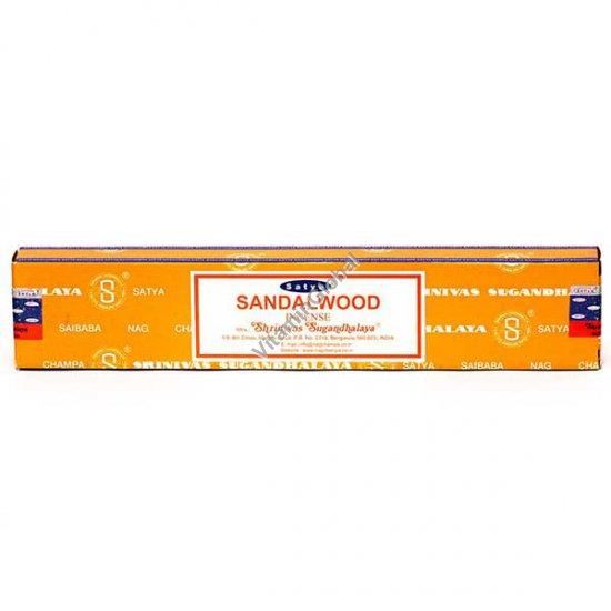 Индийские благовония сандал 15 гр - Satya
