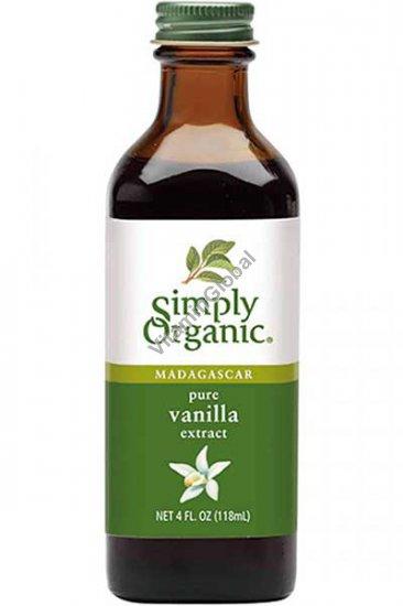 Органический экстракт ванили 118 мл - Simply Organic