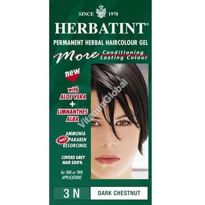 Краска для волос темно-каштановый цвет (3N) - Гербатинт