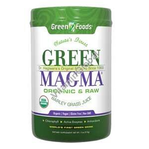 Грин Магма (Green Magma) порошок ростков ячменя 300 гр - Green Foods