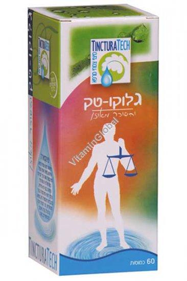 ГлюкоТек - формула для нормализации уровня сахара в крови 60 капсул - TincturaTech