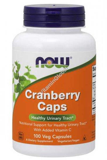 Клюквенный концентрат 100 капсул - NOW Foods