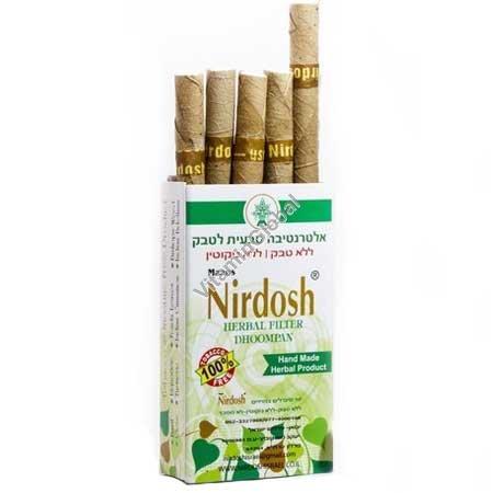 Травяные сигареты без никотина и табака 10 сигарет с фильтром - Нирдош