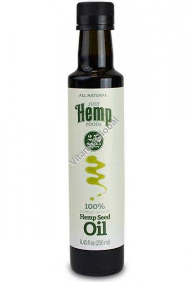 Конопляное масло холодного отжима 250 мл - Just Hemp Foods