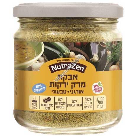 Органический овощной суп в порошке 200 гр - NutraZen