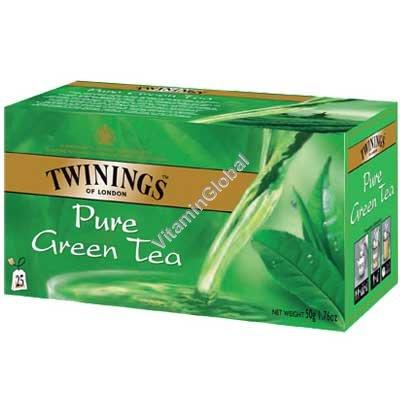 Натуральный зеленый чай 25 пакетиков - Twinings