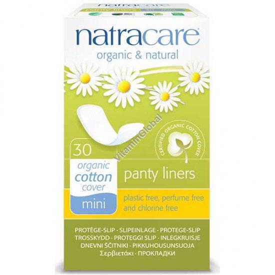 Натуральные ежедневные гигиенические прокладки, мини 30 шт - Natracare