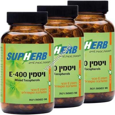 Витамин Е 400 МЕ 270 капсул - Supherb