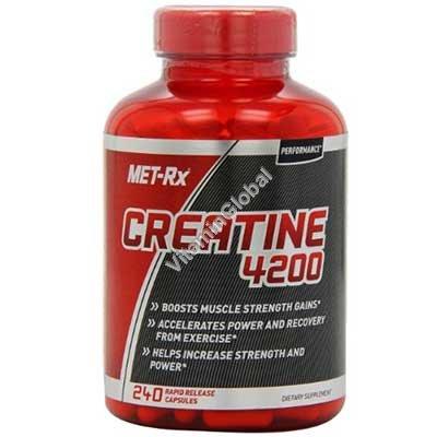 Креатин 4200 240 капсул - MET-Rx