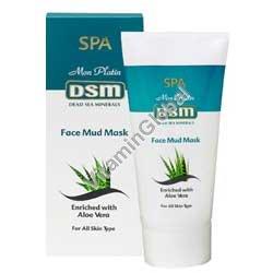 Грязевая маска для лица обогащенная минералами Мертвого моря 150 гр - DSM