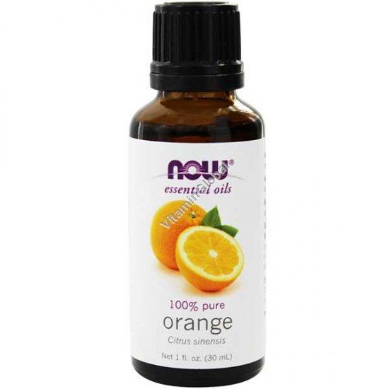 Апельсин эфирное масло 30 мл - Now Essential Oils